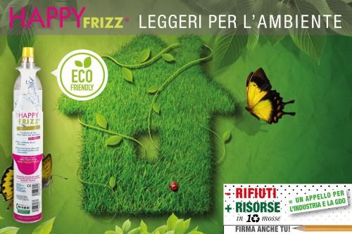 Happy Frizz_adesione_meno rifiuti