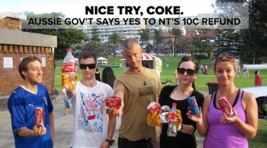 Coca-Cola-Defeated